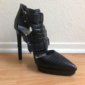 Jeffery Campbell Ibiza Pointed Toe Gladiator Heels